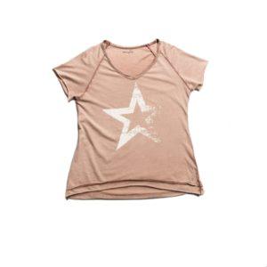 Camiseta STAR ROSÉ manga corta